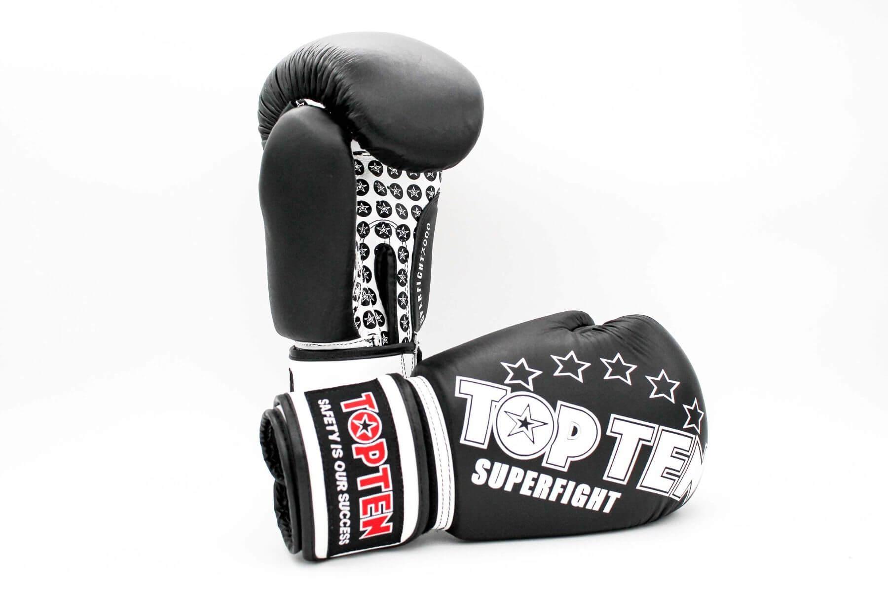 Boxhandschuhe Superfight 3000 Schwarz