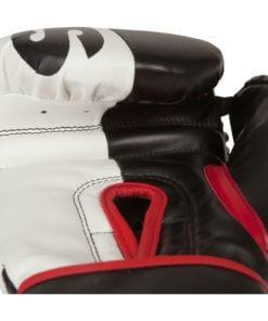 Boxhandschuh 2colour Schwarz/Weiss unten