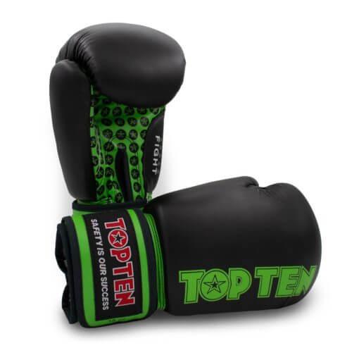 Boxhandschuh Fight Schwarz-Grün