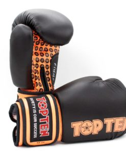 Boxhandschuh Fight Schwarz-Orange