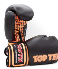 Boxhandschuh Fight Schwarz-Orange