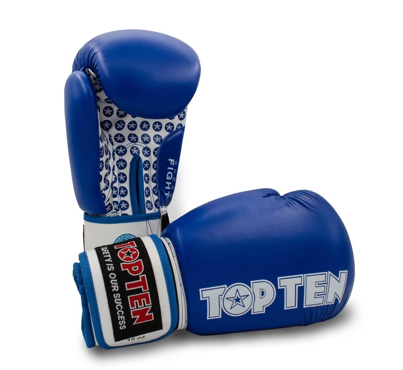 Boxhandschuh Fight Blau