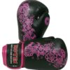 Boxhandschuhe Ultimate Woman Fight Schwarz-Pink