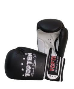 Boxhandschuhe Ultimate Woman Fight Schwarz-Weiss