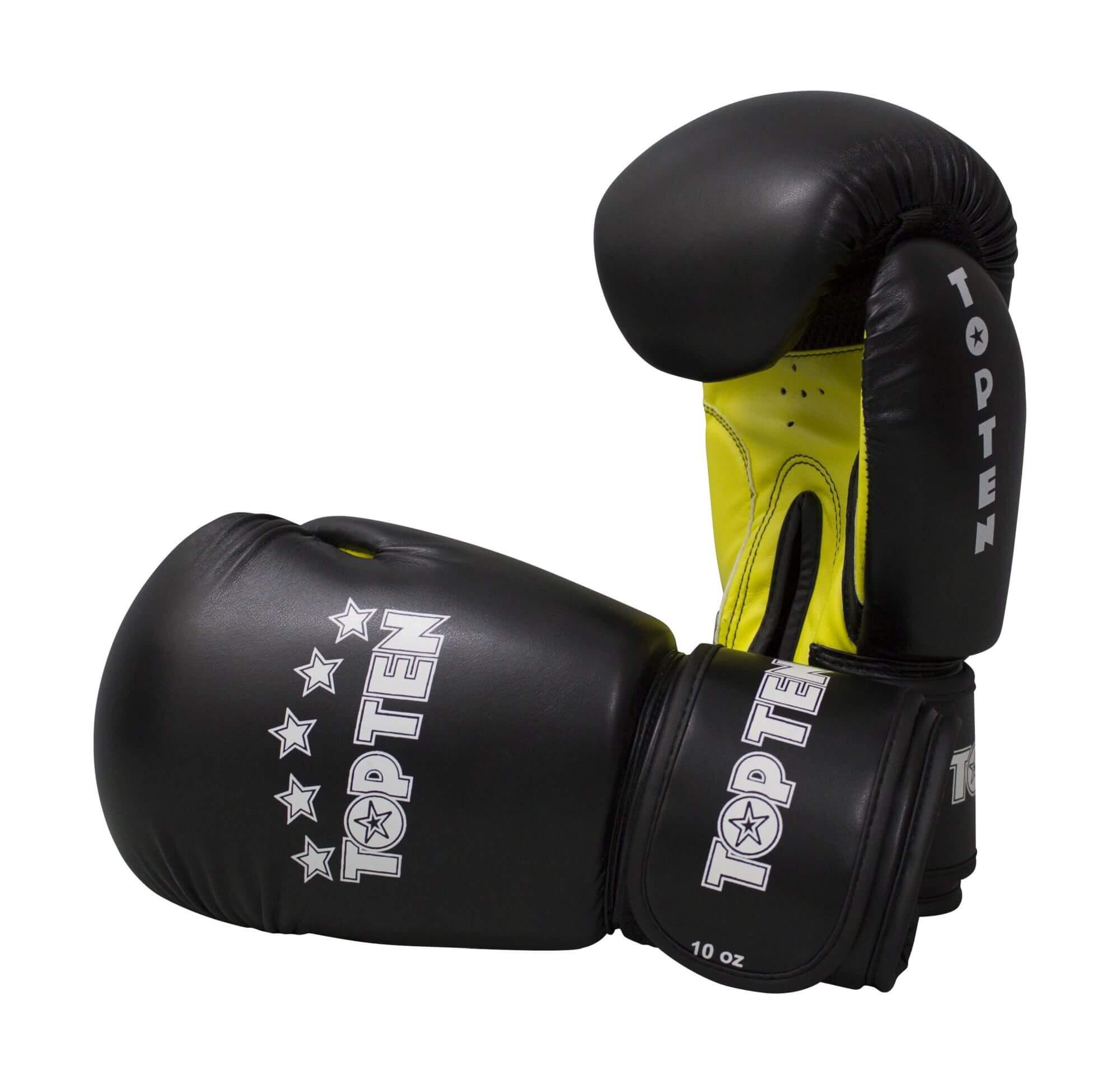 Boxhandschuhe R2M 2016 Schwarz-Gelb