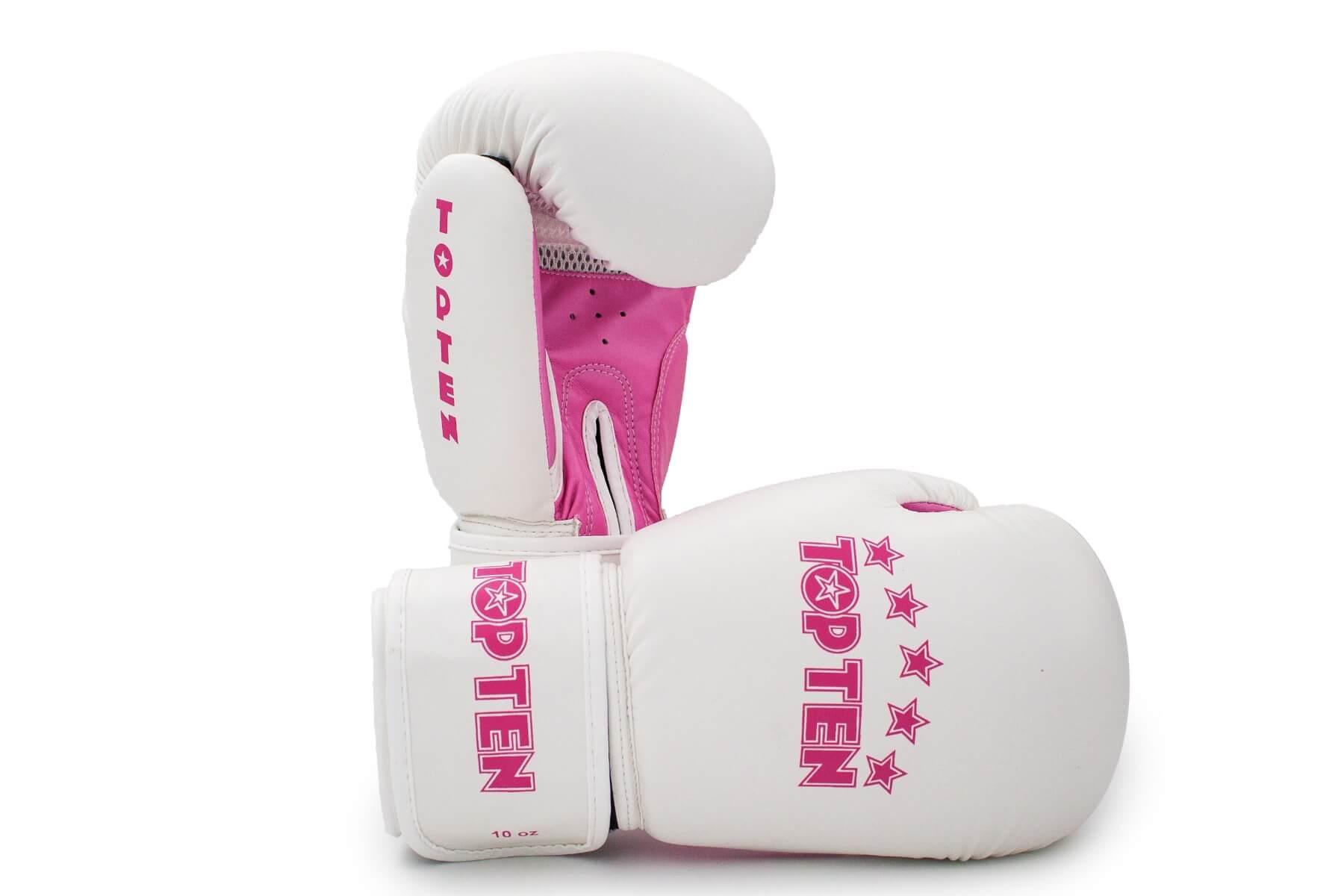 Boxhandschuhe R2M 2016 Weiss-Pink