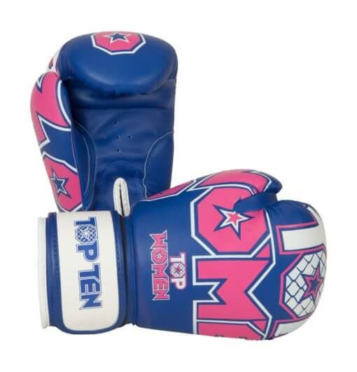Boxhandschu Woman Blau-Pink