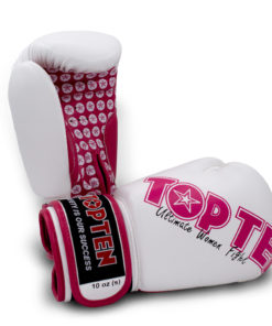 Boxhandschuh Woman Weiss-Pink
