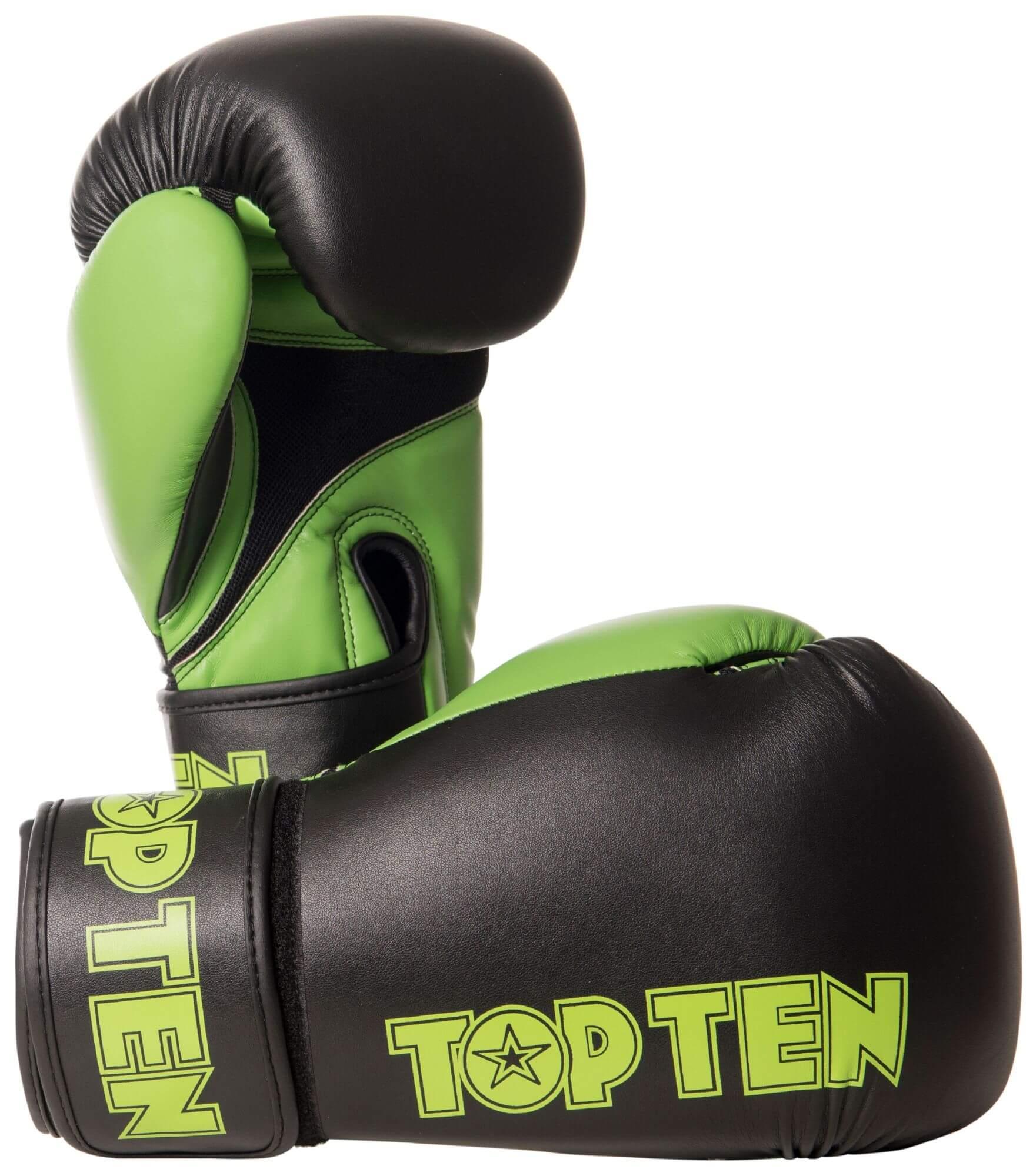 Boxhandschuh XLP Schwarz-Grün