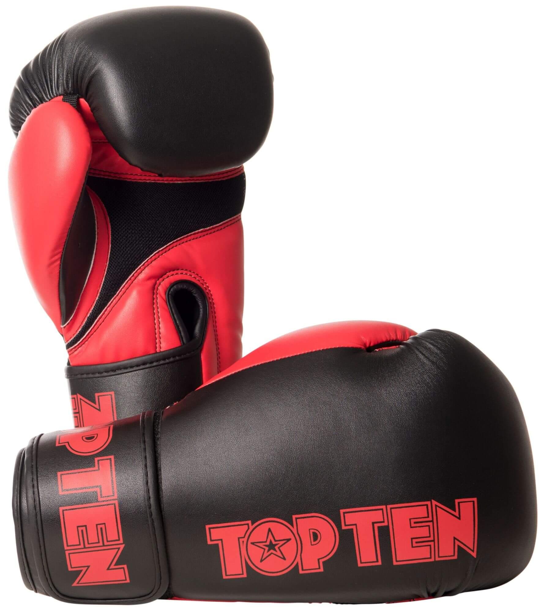 Boxhandschuh XLP Schwarz-Rot