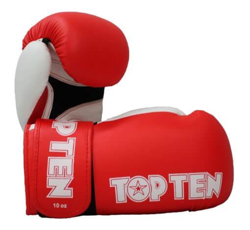 Boxhandschuhe XLP Rot-Weiss