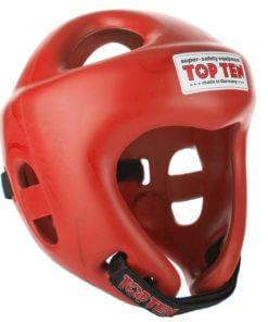 Kopfschutz Competition Fight Rot