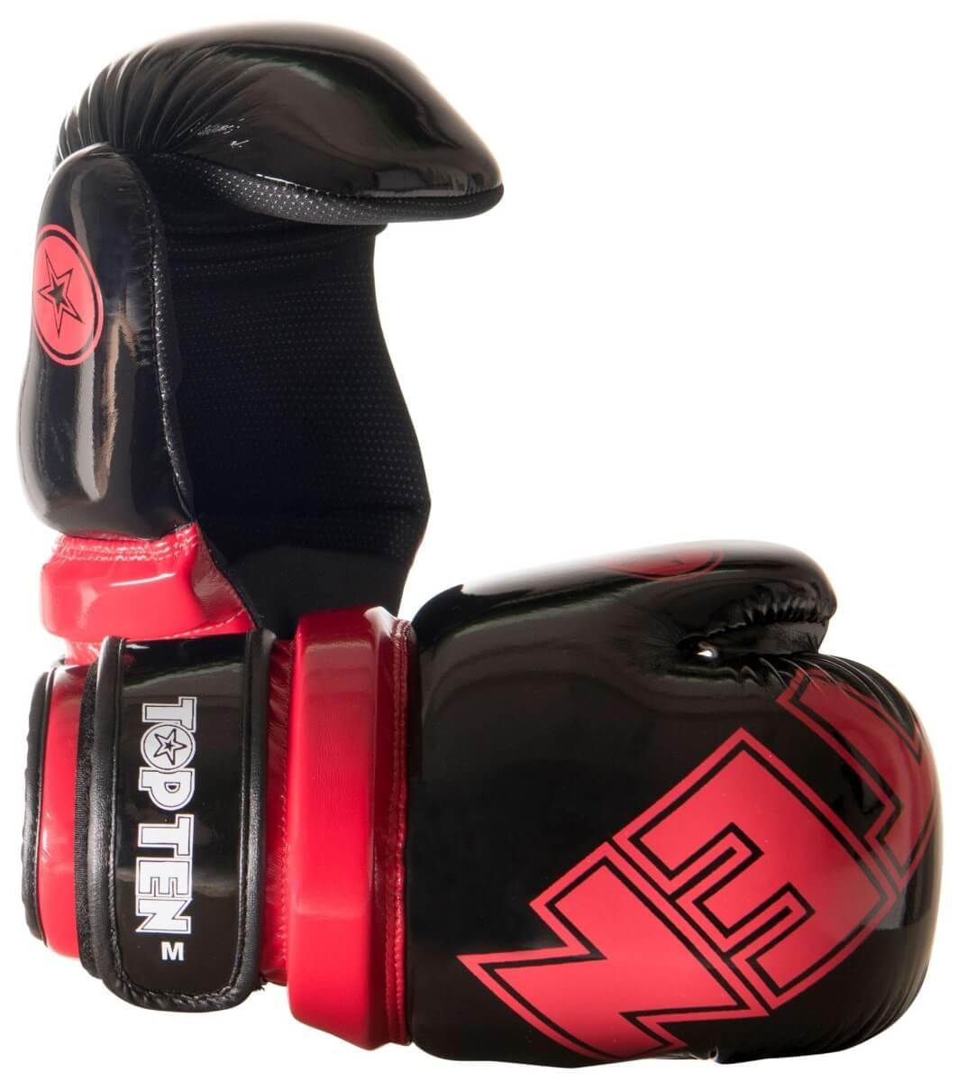 Pointfighter Glossy Block Schwarz-Rot