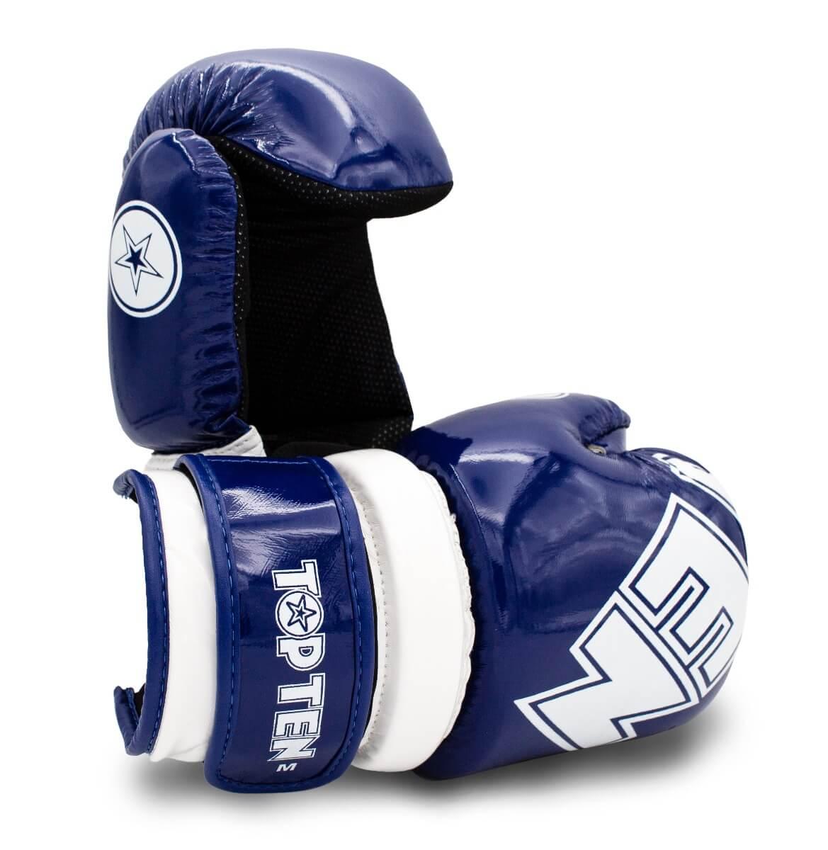 Pointfighter Glossy Block Blau-Weiss