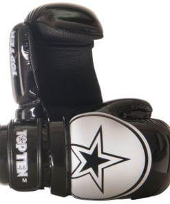 Pointfighter Glossy Block Star Schwarz-Weiss