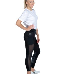 Fitness Tights Leggings Schwarz Side