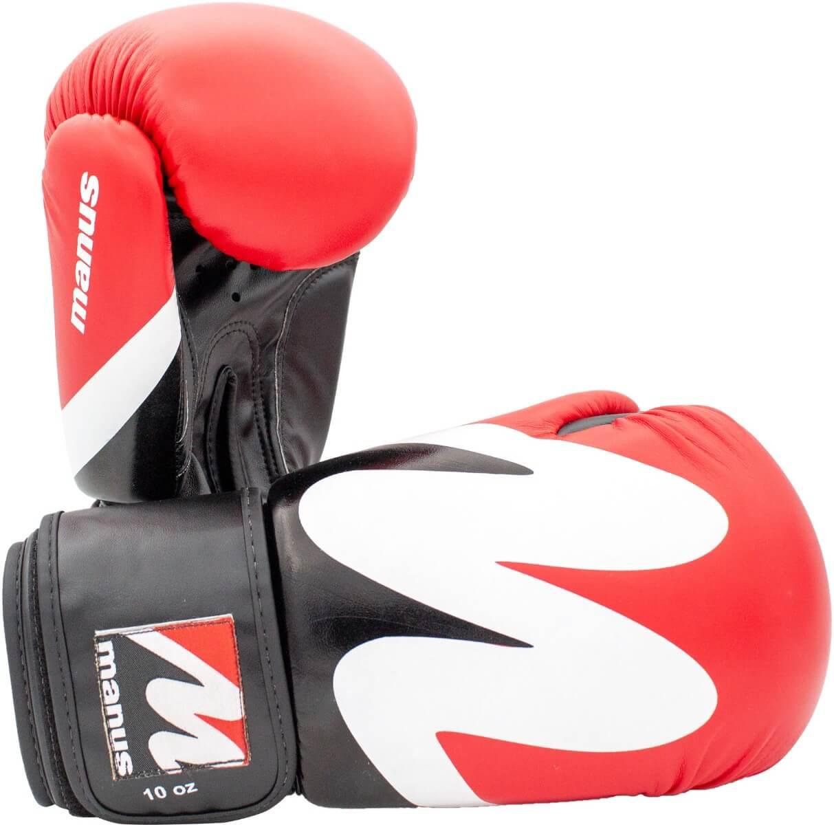Boxhandschuh Manus 2019 Schwarz-Rot