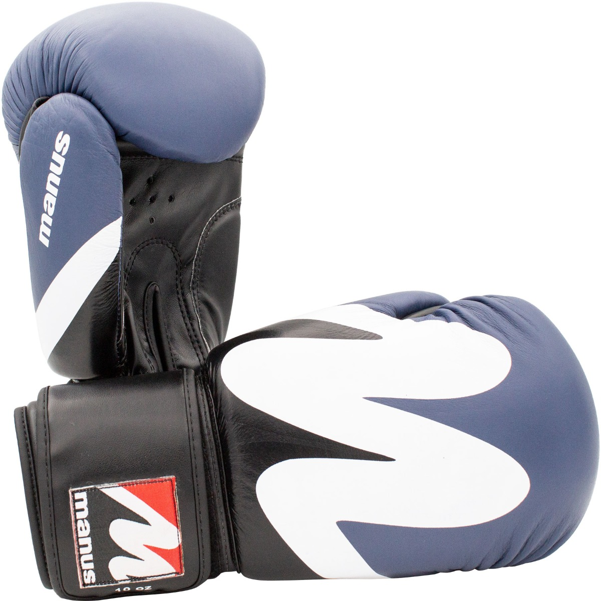 Boxhandschuh Manus 2019 Leder Schwarz-Grau