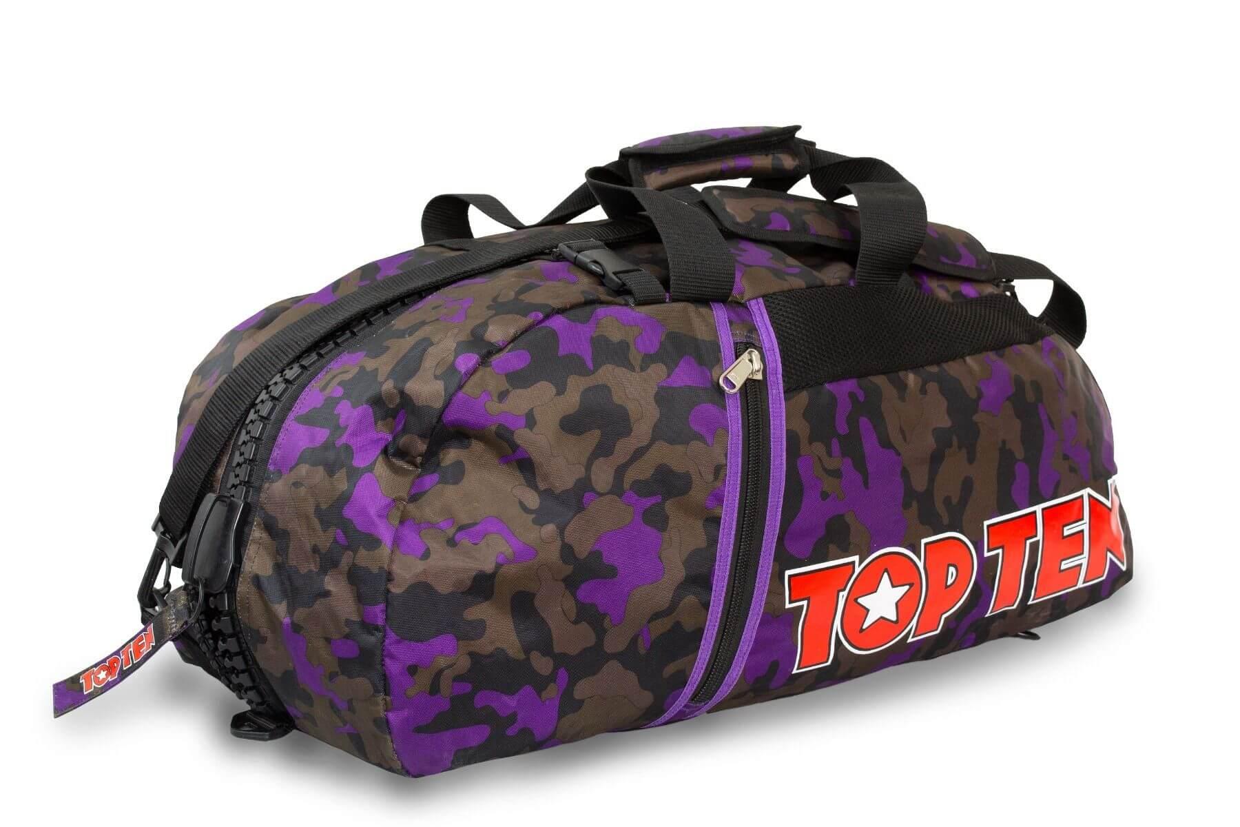 Rucksacktasche Camouflage Purple