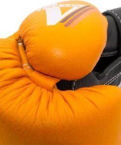 4select leder orange detail 2
