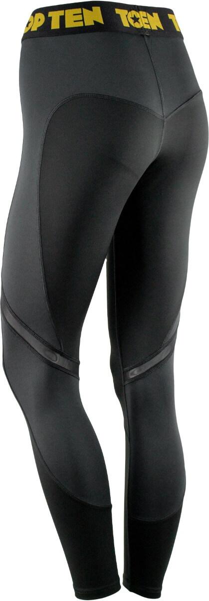 Fitness Leggings Black Back Side 3