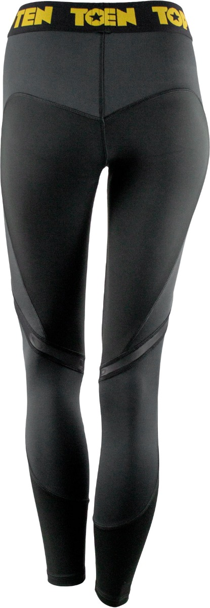 Fitness Leggings Black Back
