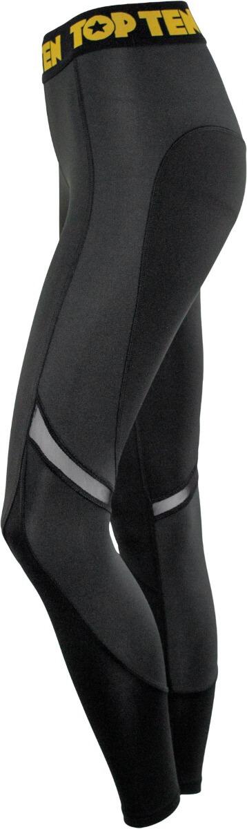 Fitness Leggings Black Grey Right 3