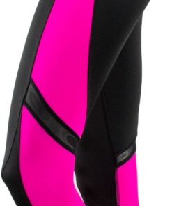 Fitness Leggings Black Pink Right