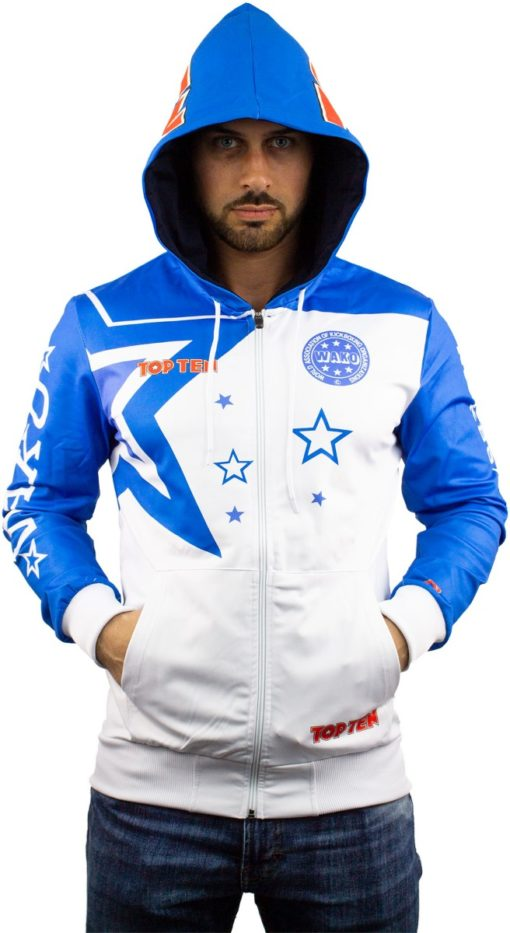 Zip-Hoodie WAKO Stars Front