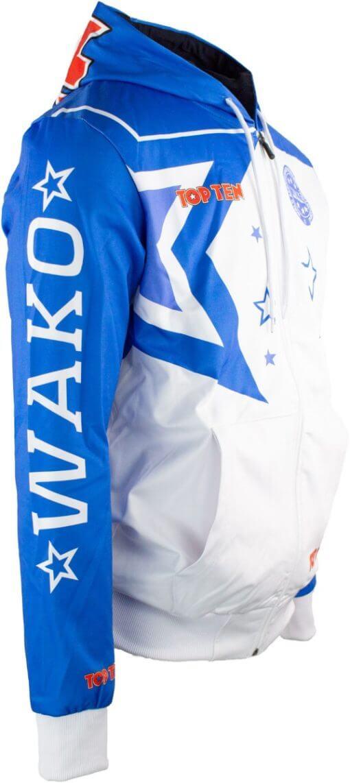 Zip-Hoodie WAKO Stars Seite