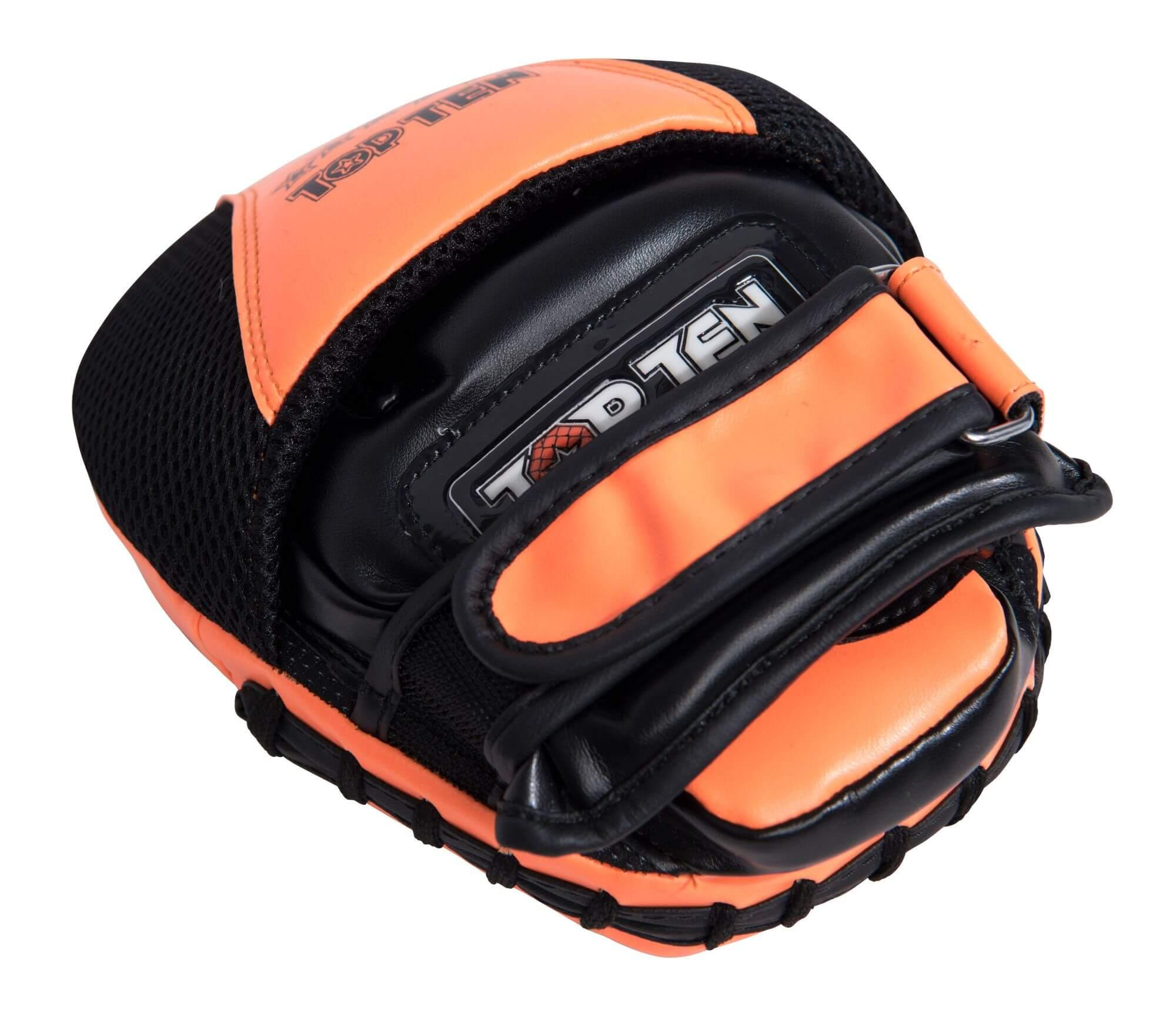 Handpratzen Speed Gel Schwarz-Orange Top