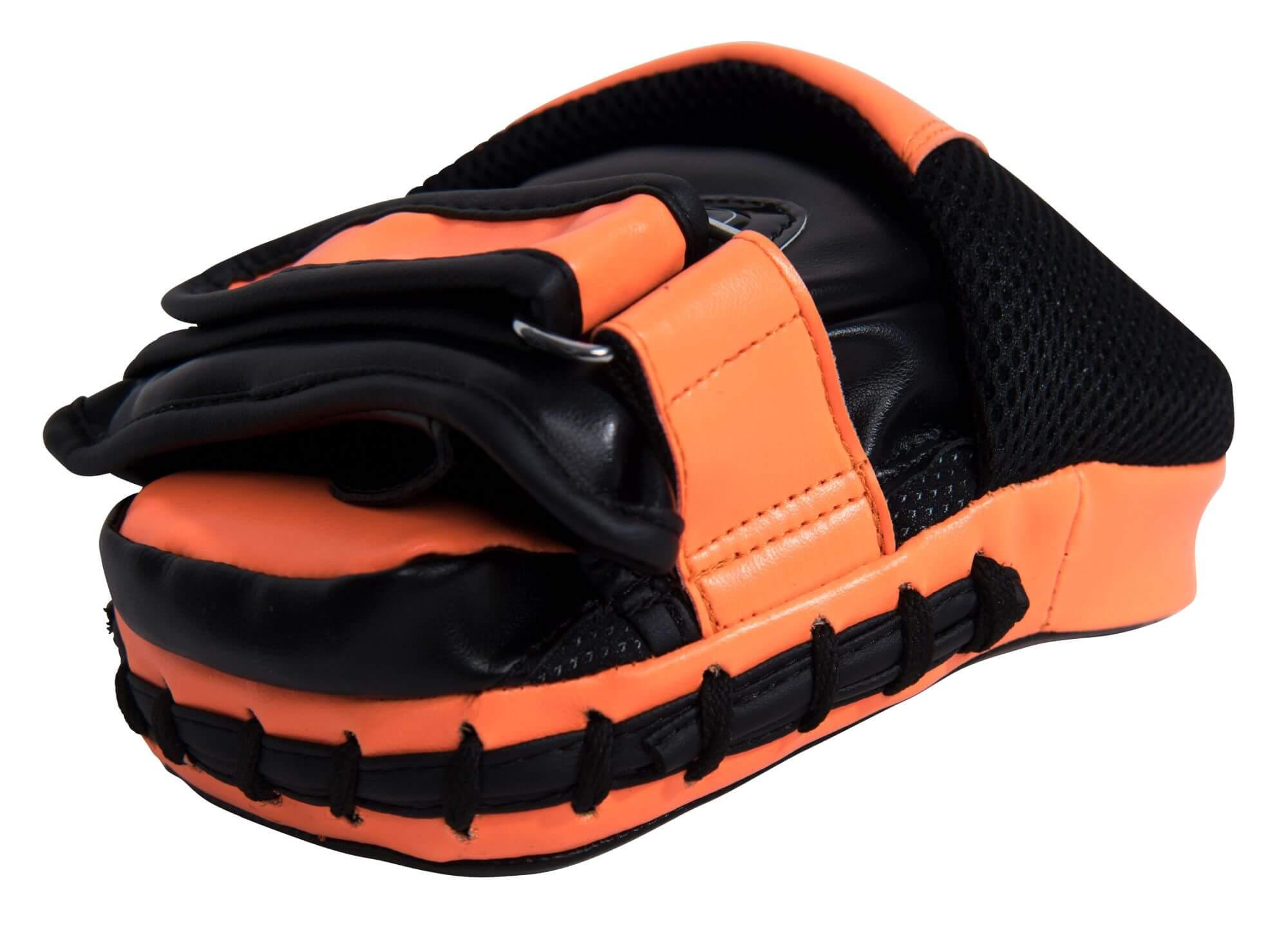 Handpratzen Speed Gel Schwarz-Orange Side 1
