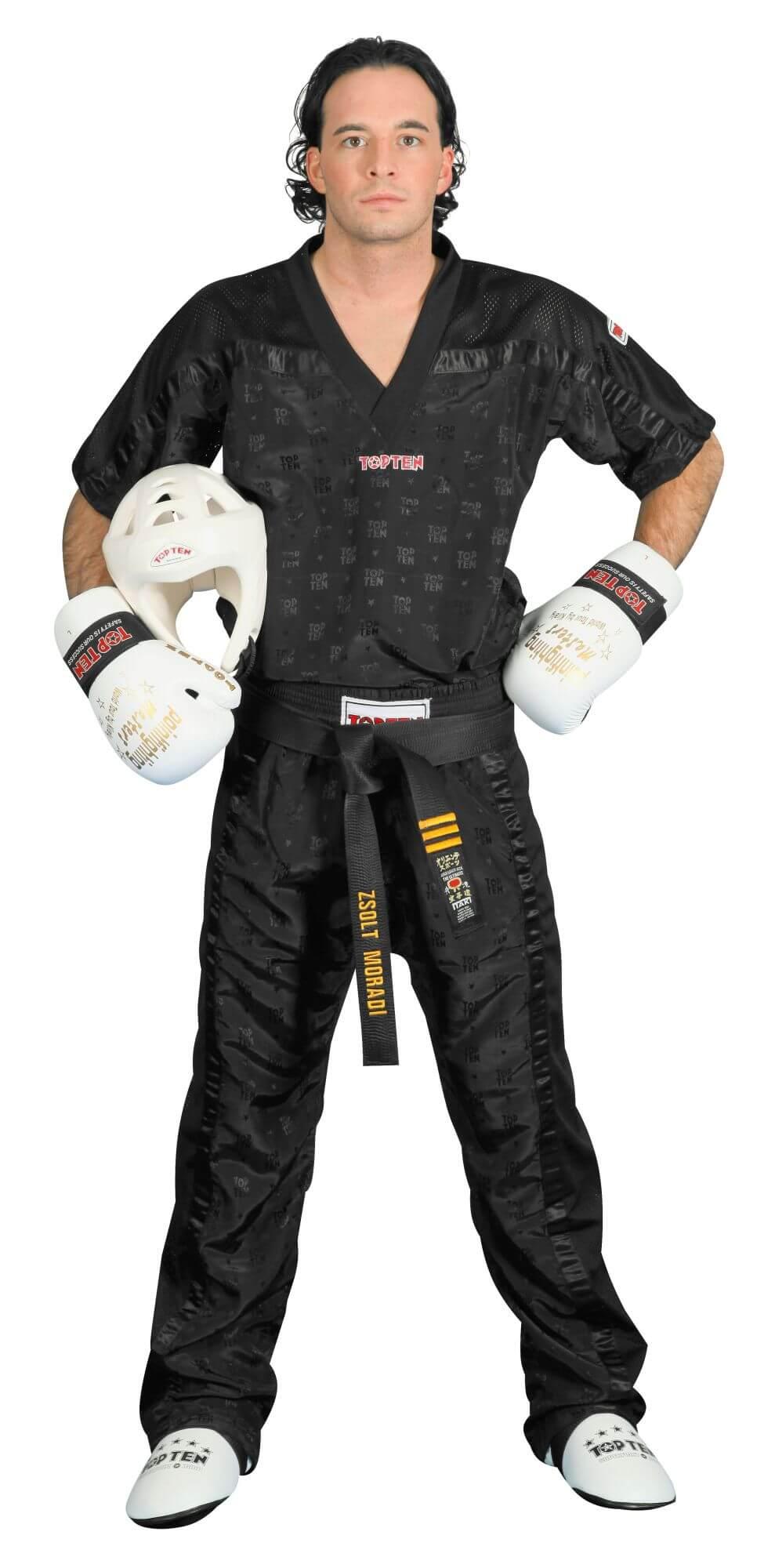 Pants mesh schwarz