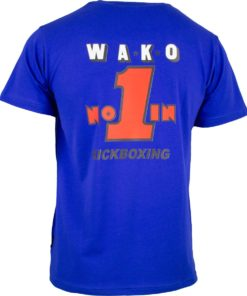 T-Shirt WAKO No. 1 Blau Back