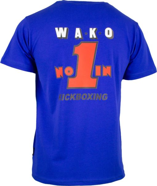 T-Shirt WAKO No. 1 Blau Back