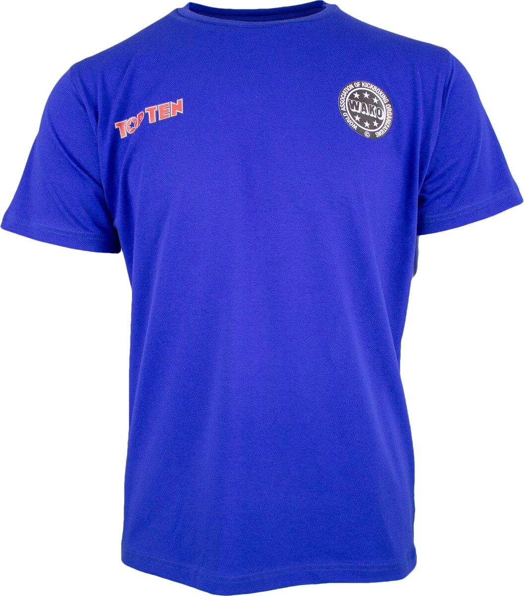 T-Shirt WAKO No. 1 Blau Front