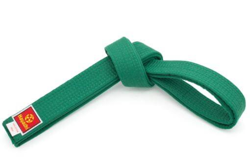 Budogürtel Hayashi 40mm Grün