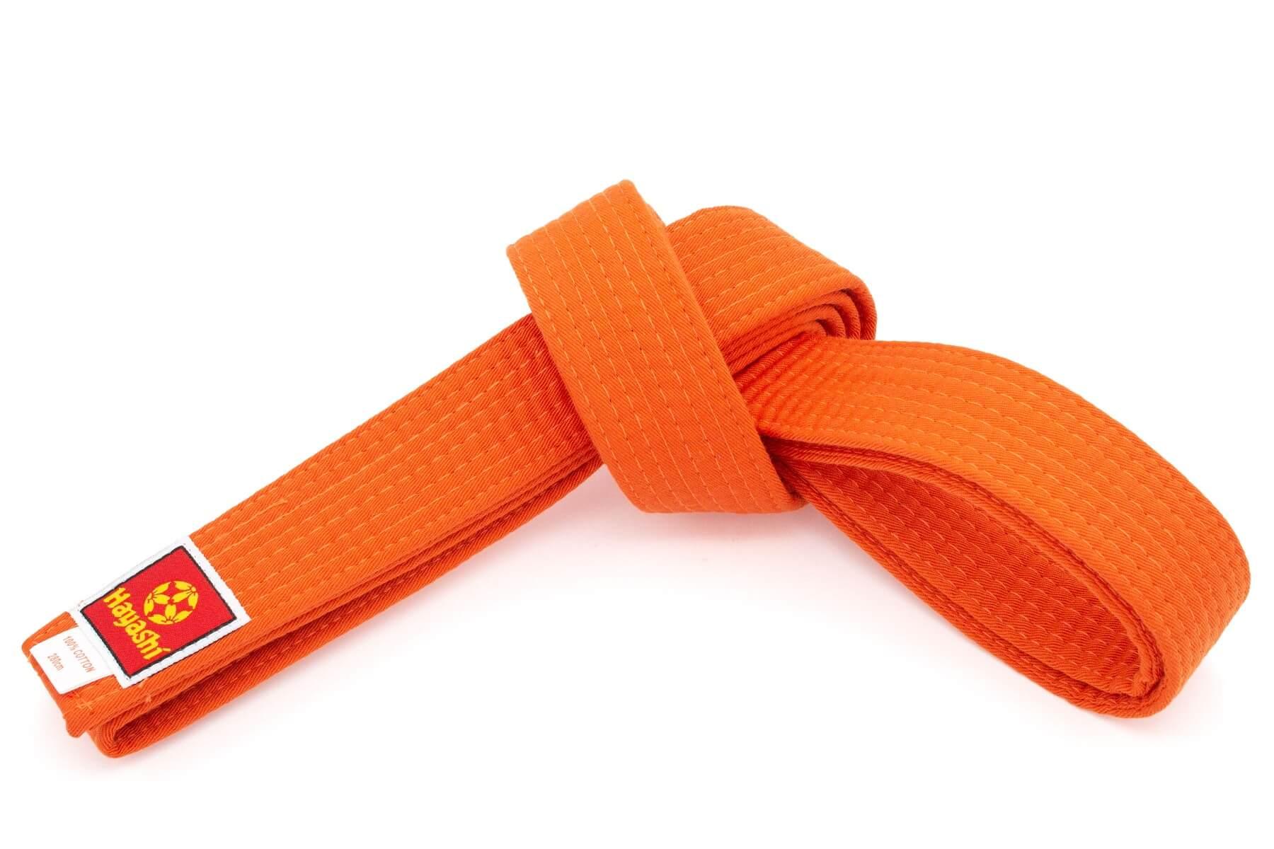 Budogürtel Hayashi 40mm Orange