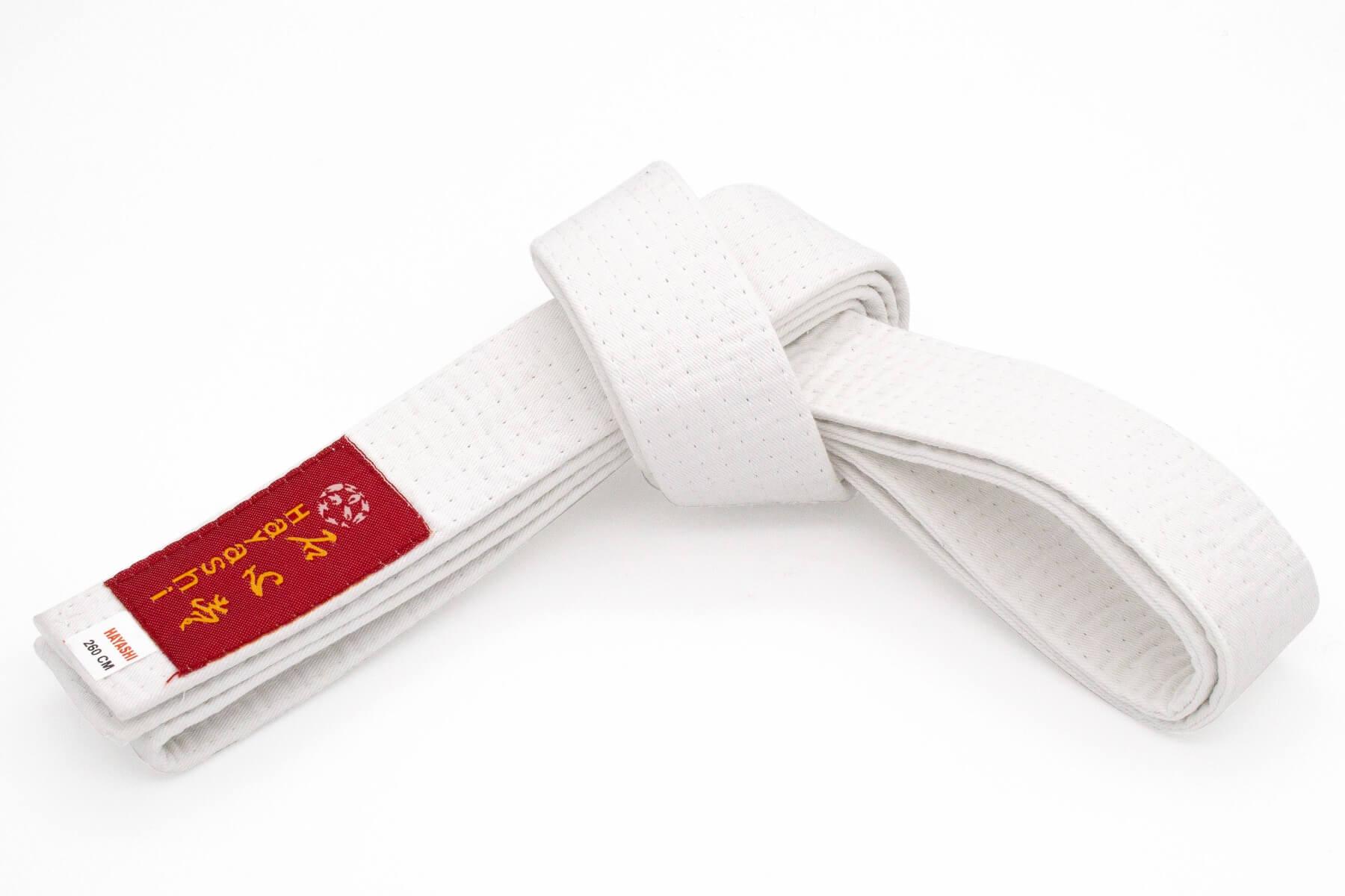 Budogürtel Hayashi 40mm Weiss