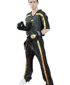 Kickboxhose Mesh Schwarz-PinkKickboxhose Mesh Schwarz-Gold komplett komplett