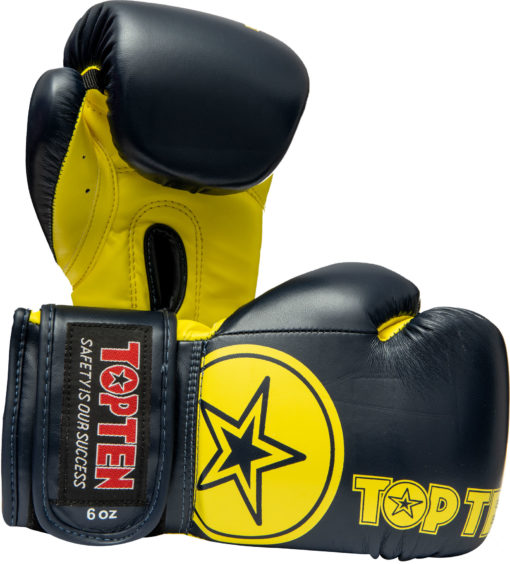 top-ten-boxing-gloves-kids-23461-blue-yellow front
