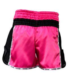 thai-kickboxing-shorts-topten-star-pink-backview