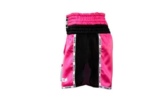 thai-kickboxing-shorts-topten-star-pink-sideview