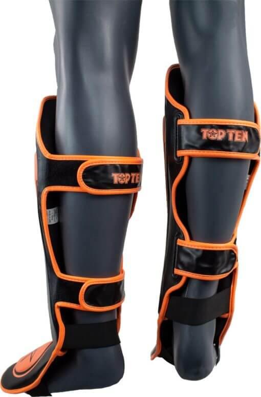 top-ten-shin-and-instep-guard-star-light-black-orange-32194-93-back_1_4